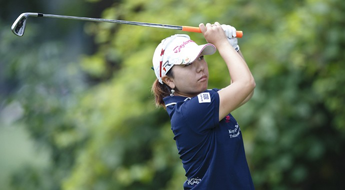 Mika Miyazato during the LPGA's 2013 Marathon Classic.