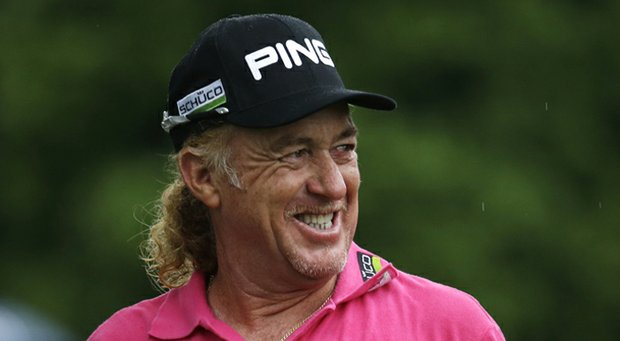 Miguel Angel Jimenez during the 2013 PGA Championship.