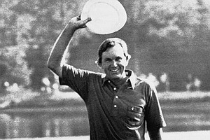 Al Geiberger became the first to shoot 59 on Tour during the second round of the 1977 Memphis Classic, then named for entertainer Danny Thomas, at Colonial Country Club. Known at Mr. 59, he had 11 birdies and an eagle on the par-72 course.