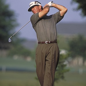 During the third round of the 1991 Las Vegas Invitational at the Sunrise Golf Course, Chip Beck caught fire and shot a 13 under (all birdies) on the par-72 layout. He made the turn, after starting on the back nine, with a 7-under 29. He proceeded to shoot 6 under on the front. (Here he is shown during the 2002 Louisiana Open.)