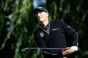 Jim Furyk's 59 stole the spotlight during the second round of the BMW Championship, the third event of the 2013 FedEx Cup playoffs on PGA Tour, at Conway Farms near Chicago. He made an eagle, 10 birdies and a bogey.