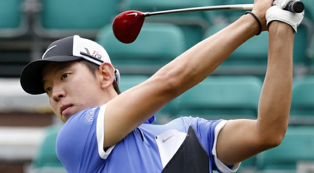 Seung-Yul Noh during the 2013 Sanderson Farms Championship.