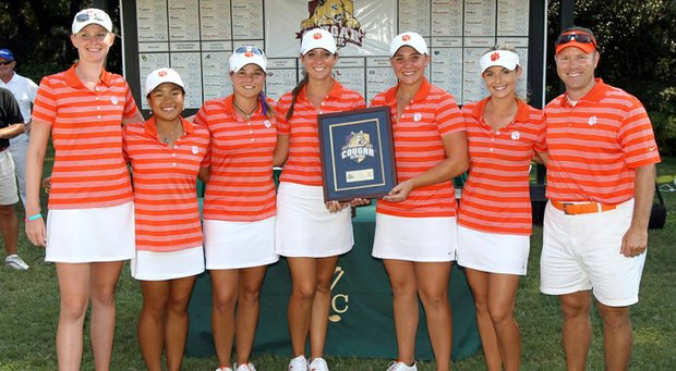 In its inaugural season, the Clemson Lady Tigers finished second at the Cougar Classic in the team's first tournament.