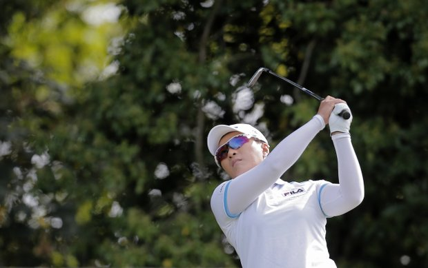 Se Ri Pak during the second round of the 2013 Evian Championship, the LPGA's fifth major.