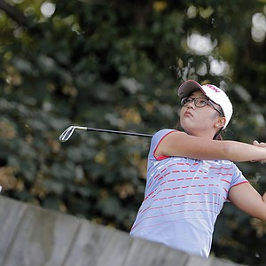 Lydia Ko during the second round of the 2013 Evian Championship, the LPGA's fifth major.