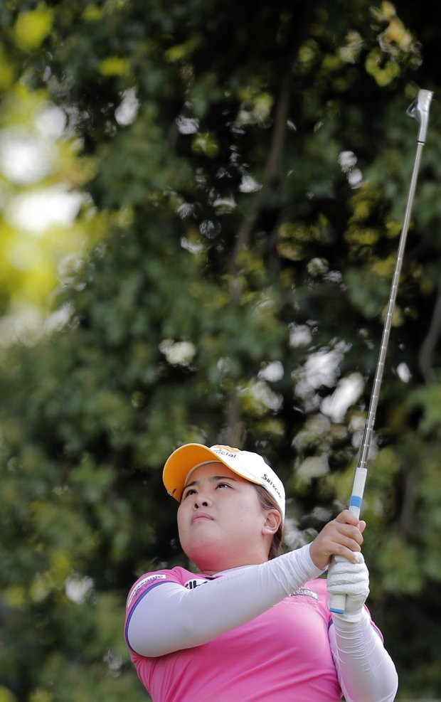 Inbee Park during the second round of the 2013 Evian Championship, the LPGA's fifth major.
