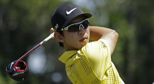 Seung Yul Noh during the 2013 Players Championship.