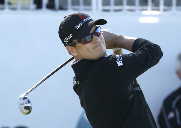 Zach Johnson during his win Monday at the BMW Championship, the third event of the 2013 FedEx Cup playoffs on PGA Tour, at Conway Farms near Chicago.