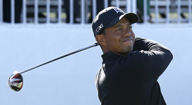 Tiger Woods during the final round of the 2013 FedEx Cup's playoffs on PGA Tour, the BMW Championship.