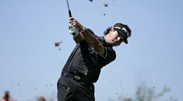 Bubba Watson during The Barclays.