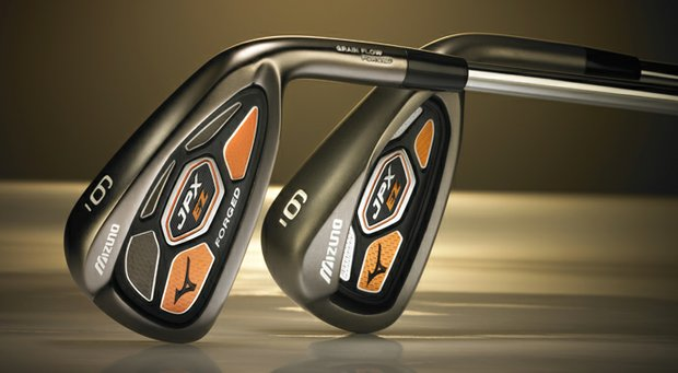 "Mizuno's directive to designers for the latest JPX irons: ""Let's take this thing to another galaxy."" The result? Two JPX-EZ models featuring advanced technology – and orange cosmetics."