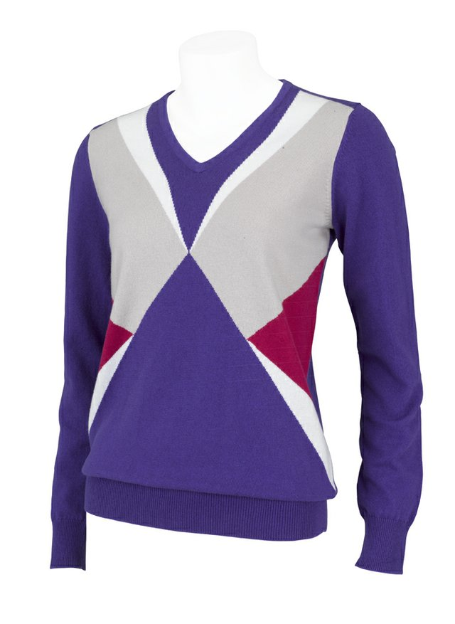 A sweater from the IJP Design ladies collection.