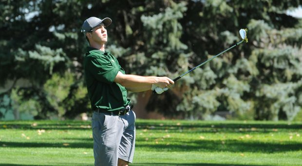 Colorado State freshman Jimmy Makloski finished T-22 in his first start with the Rams.