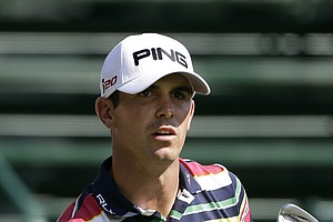 Billy Horschel during Thursday's first round of the Tour Championship, the final event of the 2013 FedEx Cup playoffs on PGA Tour, at East Lake in Atlanta.