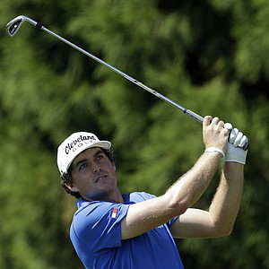 Keegan Bradley during Thursday's first round of the Tour Championship, the final event of the 2013 FedEx Cup playoffs on PGA Tour, at East Lake in Atlanta.