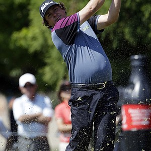 Jason Dufner during Thursday's first round of the Tour Championship, the final event of the 2013 FedEx Cup playoffs on PGA Tour, at East Lake in Atlanta.
