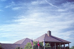The clubhouse at The Golf Club of Tennessee.