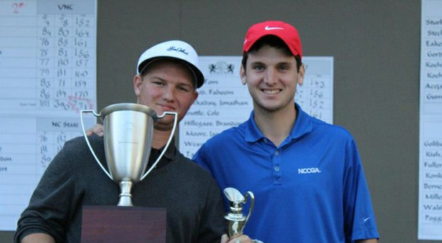 Tom Duty and Matt Weinberger of the NCCGA.