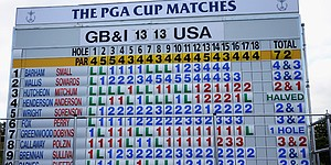 Afternoon rally puts U.S. on top at PGA Cup