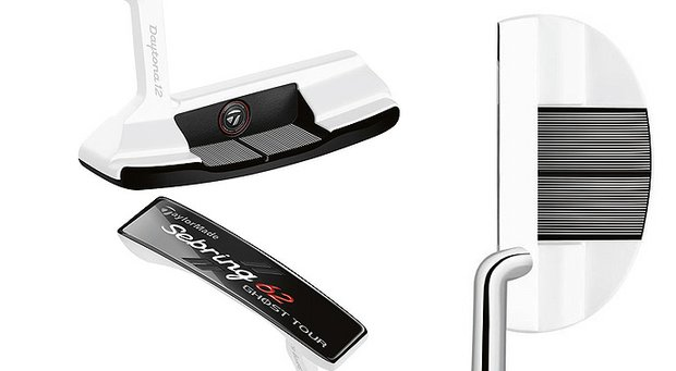 TaylorMade's latest additions to the Ghost Tour putter family feature a new face-insert material – including aluminum – designed to provide a crisp feel.