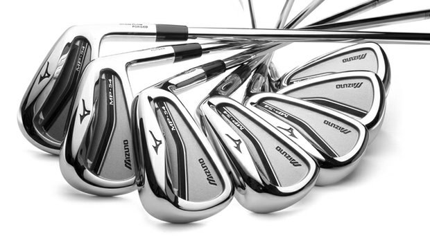 Mizuno's new MP-54 irons balance a classic forged look and modern design, including a milled pocket cavity for better trajectory control.