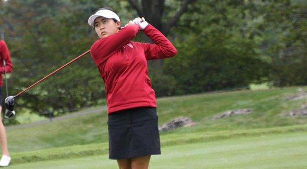 Tiffany Lim led Harvard to victory at the Princeton Invitational, the team's season opener.