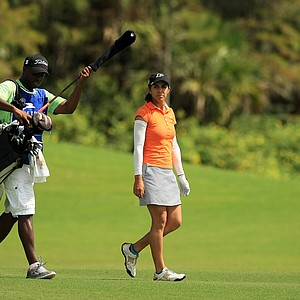 Paula Reto during the Symetra Tour Championship Presented by Embry-Riddle Aeronautical University, during the third round.