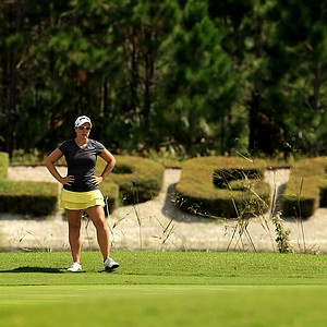 Melissa Eaton at the Symetra Tour Championship Presented by Embry-Riddle Aeronautical University, during the third round.