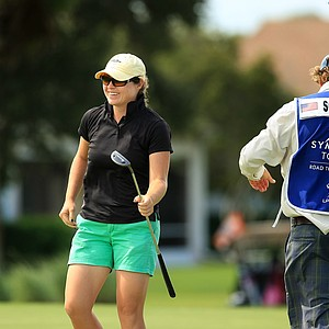 Candace Schepperle at the Symetra Tour Championship Presented by Embry-Riddle Aeronautical University, during the third round.