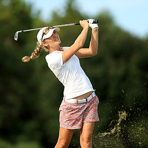 Megan McChrystal at the Symetra Tour Championship Presented by Embry-Riddle Aeronautical University, during the final round.