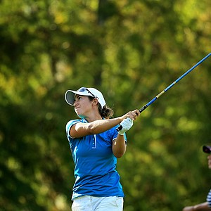 Marina Alex at the Symetra Tour Championship Presented by Embry-Riddle Aeronautical University, during the final round.