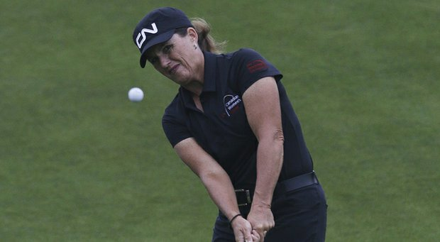 Lorie Kane of the LPGA Legends Tour