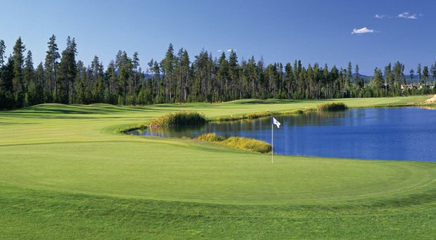 Crosswater in Sunriver, Ore., host of the 2013 Golfweek Division II Fall Invitational.