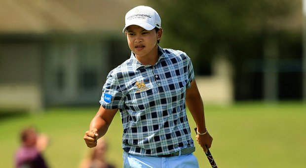 P.K. Kongkraphan finished atop the 2013 Symetra Tour money list.
