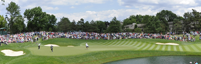 The fifth hole at Muirfield Village.