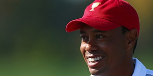 Rude: Woods is happy and loose at Presidents Cup