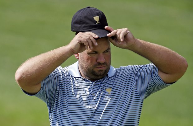 Brendon de Jonge, 33, rookie, Zimbabwe: Named a captain's pick by countryman Nick Price, he is winless in 178 career starts on the PGA Tour, though he's seemingly ready to kick down the door. Made 25 of 30 cuts in 2013, and he hits a lot of greens.