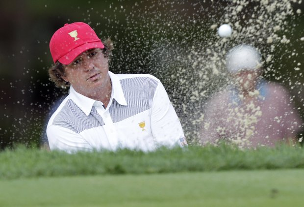Jason Dufner, 36, rookie, Auburn, Ala.: If he were more laid back, he'd be asleep. Turned around subpar season with ballstriking clinic in winning PGA Championship. Not nervous on big stage (3-1 at Ryder). Not nervous anywhere, not even when he's Dufnering.