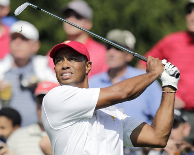 Tiger Woods, 37, 20-14-1, Jupiter, Fla.: Golf's No. 1 player for years, Woods hasn't been at his best in team events. Curiously, he's 13-17-3 in Ryder. But his game is lethal again, with five Tour victories this year. He and Stricker were tough team to beat till last year's Ryder. Driver only club in bag he doesn't have dialed in.