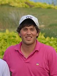 "Guillermo ""Memo"" Saldana of TCU club golf, a member of the NCCGA."