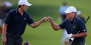 Stricker guides Spieth through Presidents Cup debut