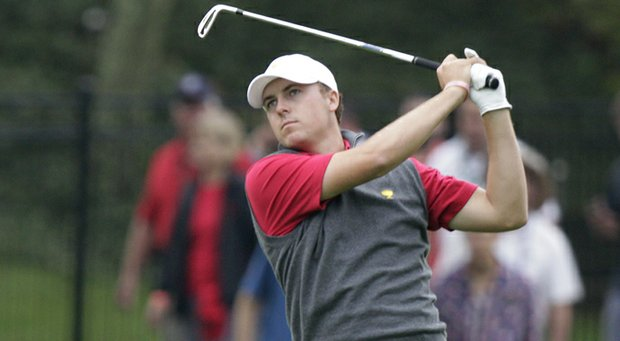 Jordan Spieth played Pine Valley and Augusta National on Oct. 15.