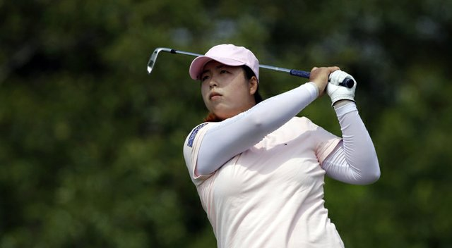 Shanshan Feng of the LPGA during the 2013 Women's Open.