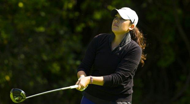 Julia Potter during the 2013 U.S. Women's Mid-Amateur in Asheville, N.C.