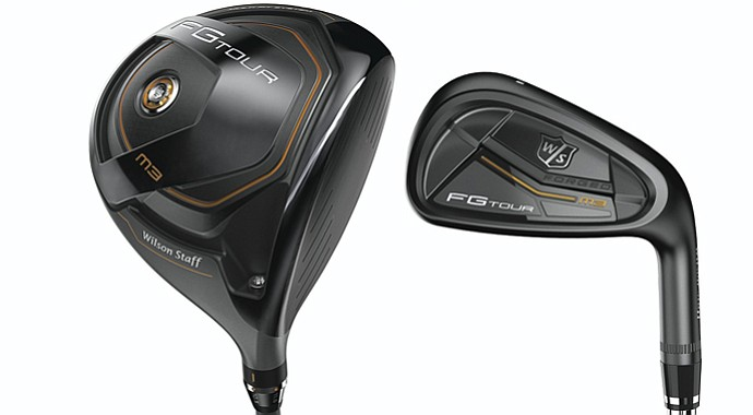 The Wilson Staff FG Tour M3 line includes driver and iron as well as fairway woods and hybrids.
