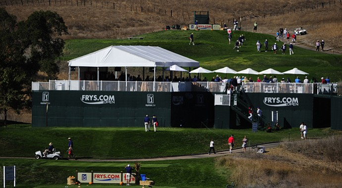 A scene from the final round of last year's Frys.com Open, which kicks off the 2013-14 PGA Tour season Thursday.