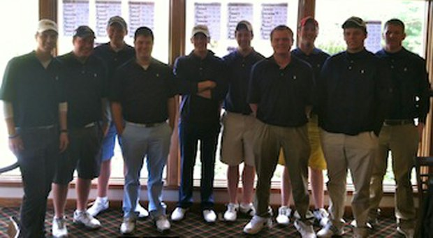 Xavier club golf team