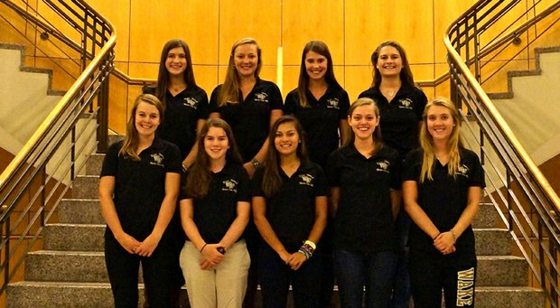 Wake Forest women's club-golf team