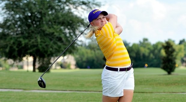 LSU freshman Caroline Nistrup came up big for the Tigers at the Schooner Fall Classic.