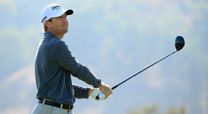 George McNeil during the third round of the Frys.com Open at the CordeValle.